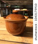Small photo of Pottery with lacquer cover.
