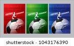 template sport layout design ... | Shutterstock .eps vector #1043176390