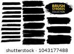 large set different grunge... | Shutterstock .eps vector #1043177488
