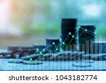 finance and investment concept... | Shutterstock . vector #1043182774