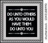 common english proverbs. do... | Shutterstock .eps vector #1043188990
