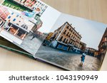 open book with venice image... | Shutterstock . vector #1043190949