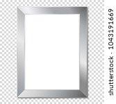 metal frame  isolaterd.   Shutterstock .eps vector #1043191669