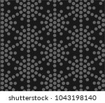 seamless vector pattern with... | Shutterstock .eps vector #1043198140
