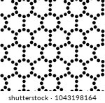 seamless vector pattern with... | Shutterstock .eps vector #1043198164