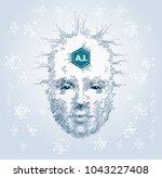 artistic representation of... | Shutterstock .eps vector #1043227408