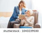 pleasant memories. cheerful... | Shutterstock . vector #1043239030