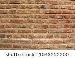 brick wall background | Shutterstock . vector #1043252200