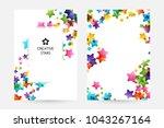 creative kids design collection.... | Shutterstock .eps vector #1043267164