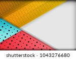 abstract tech background with...   Shutterstock .eps vector #1043276680