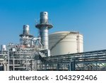 natural gas combined cycle... | Shutterstock . vector #1043292406