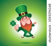 saint patrick's day concept... | Shutterstock .eps vector #1043296168