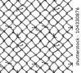 hand drawn sketch of net.... | Shutterstock .eps vector #104330876