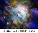 will universe remember me...   Shutterstock . vector #1043312566