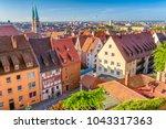 nuremberg  germany old town... | Shutterstock . vector #1043317363