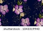 floral design seamless pattern. ... | Shutterstock .eps vector #1043319940