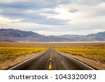 death valley s very rare  super ... | Shutterstock . vector #1043320093