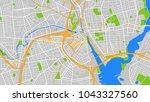 art map city usa | Shutterstock .eps vector #1043327560
