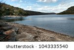 beaver lake  arkansas  | Shutterstock . vector #1043335540