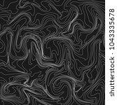 moire waves warped line texture ... | Shutterstock .eps vector #1043335678