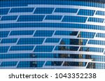 facing the building with a... | Shutterstock . vector #1043352238