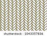 colorful seamless herringbone... | Shutterstock . vector #1043357836