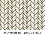 colorful seamless herringbone... | Shutterstock . vector #1043357836