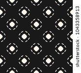 black and white subtle vector... | Shutterstock .eps vector #1043358913