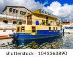 copenhagen  denmark   july 20 ... | Shutterstock . vector #1043363890
