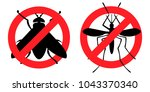 pest control  antifly ... | Shutterstock .eps vector #1043370340