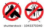 pest control  antifly ... | Shutterstock .eps vector #1043370340