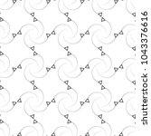 abstract decorative dot... | Shutterstock .eps vector #1043376616