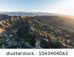 los angeles  california  usa  ... | Shutterstock . vector #1043404063
