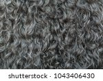 gary wool texture background ... | Shutterstock . vector #1043406430