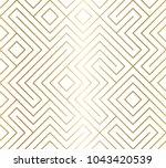 geometric seamless pattern... | Shutterstock .eps vector #1043420539