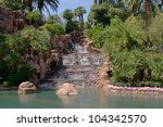 Waterfall At The Mirage Hotel...