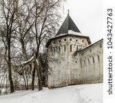 savvino storozhevsky monastery... | Shutterstock . vector #1043427763