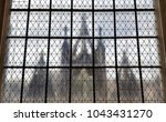 the silhouette of the church... | Shutterstock . vector #1043431270