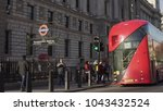london  uk. january 18  2017.... | Shutterstock . vector #1043432524