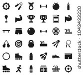 flat vector icon set   award... | Shutterstock .eps vector #1043433220