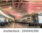 london england on 25th feb 2018 ... | Shutterstock . vector #1043441500