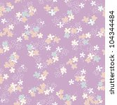 vivid repeating floral   for...   Shutterstock . vector #104344484