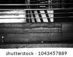 black and white urban... | Shutterstock . vector #1043457889