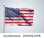 flag of the usa | Shutterstock . vector #1043461498