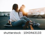 awesome cool and attractive... | Shutterstock . vector #1043463133