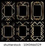vector illustration set of... | Shutterstock .eps vector #1043466529