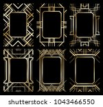 vector illustration set of... | Shutterstock .eps vector #1043466550