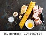 ingredients for cooking... | Shutterstock . vector #1043467639