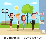 angry mad people characters... | Shutterstock .eps vector #1043475409
