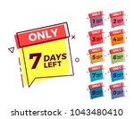 vector geometric bubble shape...   Shutterstock .eps vector #1043480410